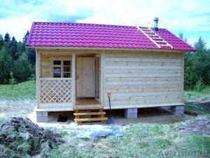 Строительство домов, дач, гаражей, бань. - Изображение #1, Объявление #186132