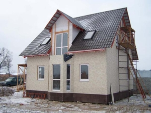 Строительство домов, дач, гаражей, бань. - Изображение #2, Объявление #186132