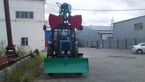 Экскаватор Пэф-1 с грейферным оборудованием на базе Мтз-82                       - Изображение #2, Объявление #1286340