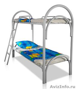 Металлические кровати для пансионата, кровати для бытовок, кровати низкие цены - Изображение #3, Объявление #1479370