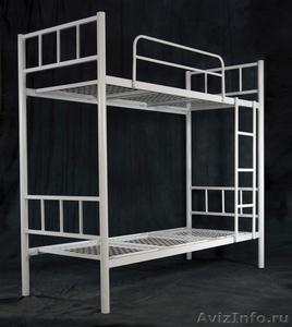 Металлические кровати для пансионата, кровати для бытовок, кровати низкие цены - Изображение #4, Объявление #1479370