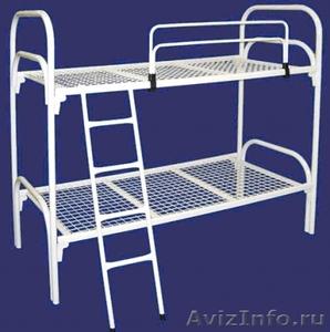 Металлические кровати для пансионата, кровати для бытовок, кровати низкие цены - Изображение #5, Объявление #1479370