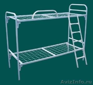 Армейские металлические кровати, кровати для рабочих, для строителей, дёшево - Изображение #1, Объявление #1480268