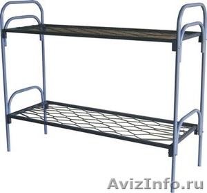 Армейские металлические кровати, кровати для рабочих, для строителей, дёшево - Изображение #3, Объявление #1480268
