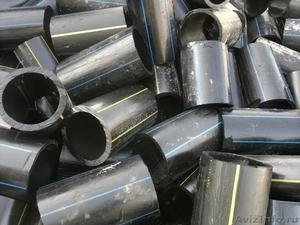 Трубы ПНД отходы(газовые и водяные) куски,лежалые - Изображение #1, Объявление #1537869