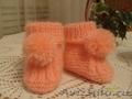 пинетки. детские носочки