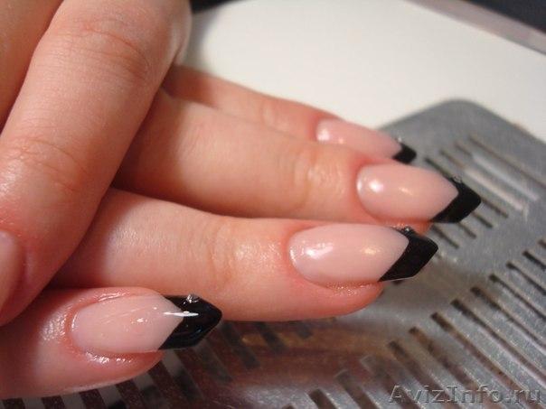 Нарощенные аккуратные ногти