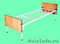 кровати двухъярусные, одноярусные металлические оптом, для армий, больниц турбаз - Изображение #5, Объявление #689296