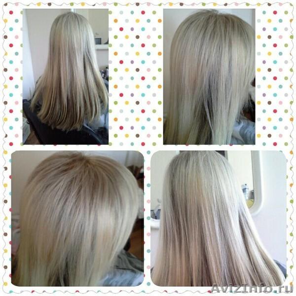 мелирование блондирование волос, Объявление #1384339
