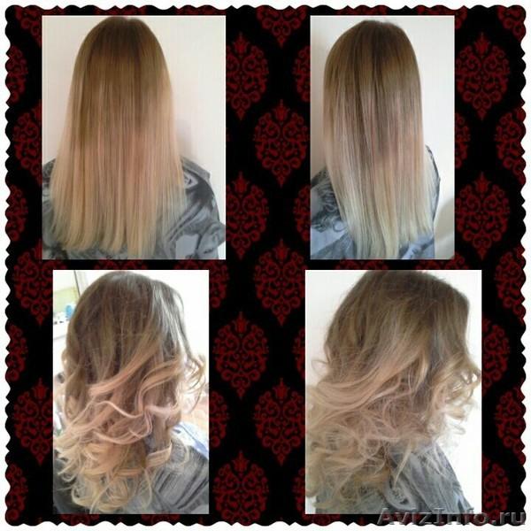 омбре балояж волос , Объявление #1384332